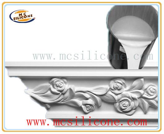 RTV liquid Silicone for plater cornice mold making