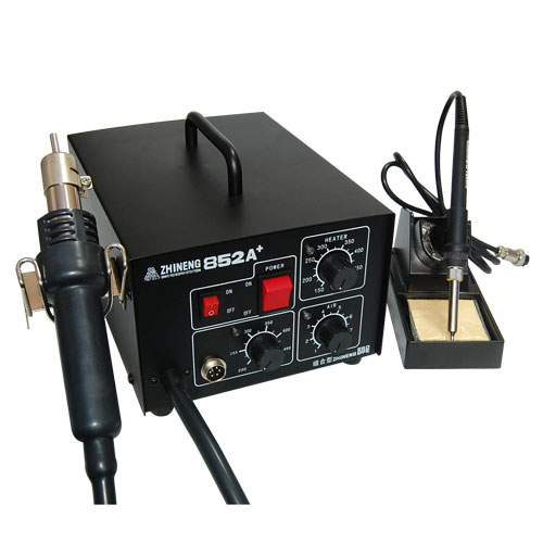 ZHINENG 852A+  2-in-1 Antistatic Unsoldering Equipment with