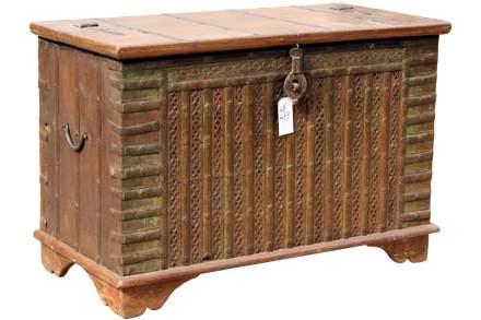 Wooden wheel box