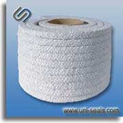 Ceramic fiber packing