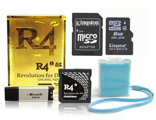 R4i Golden  game card for NDSL,NDSi