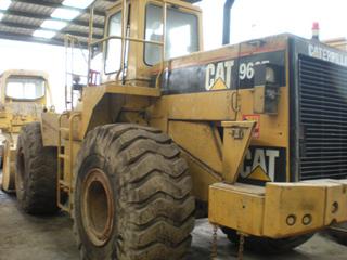 Used CAT966F wheelloader