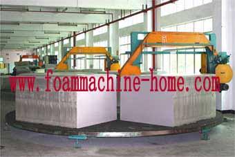 circle foam cutting machine