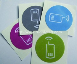 Programmable rfid nfc tag/label/sticker