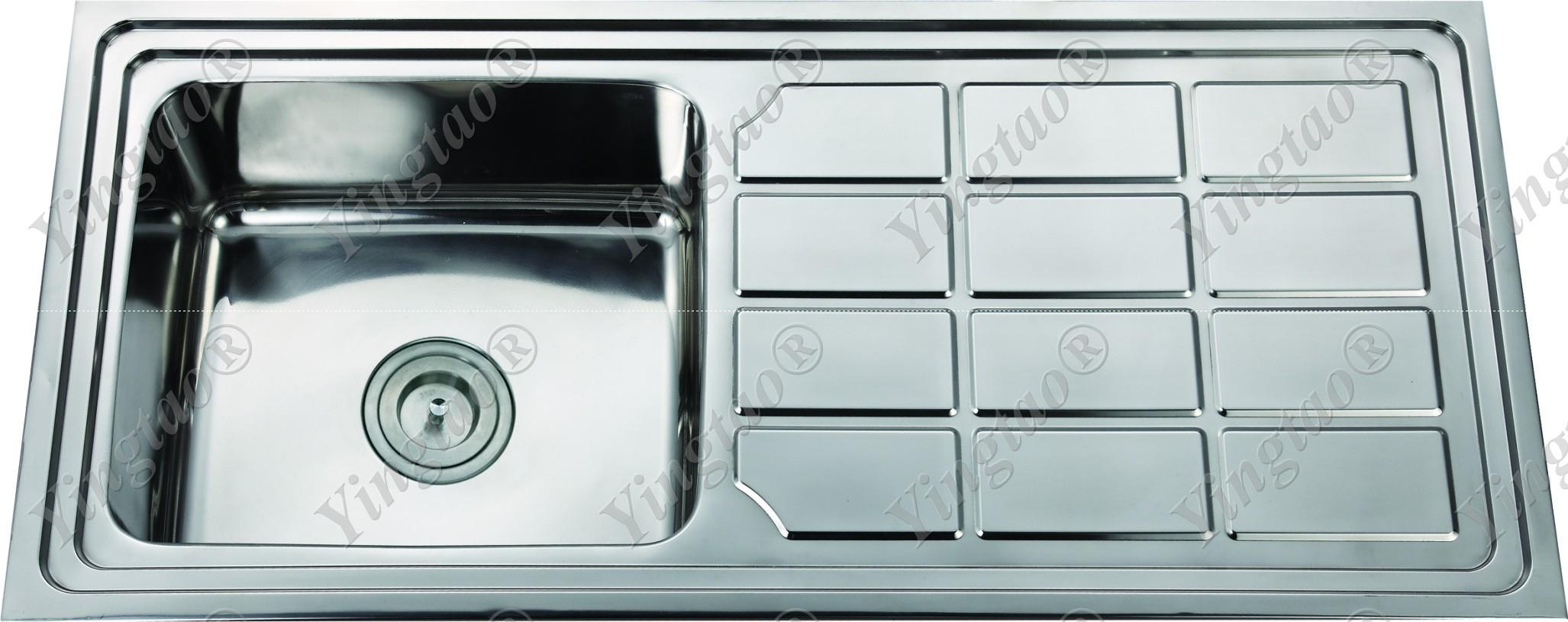 Stainless steel sink LS10046G