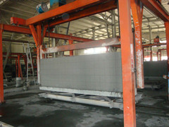 AAC block equipment--Overturning crane