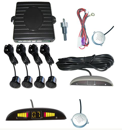 LED display parking sensor system