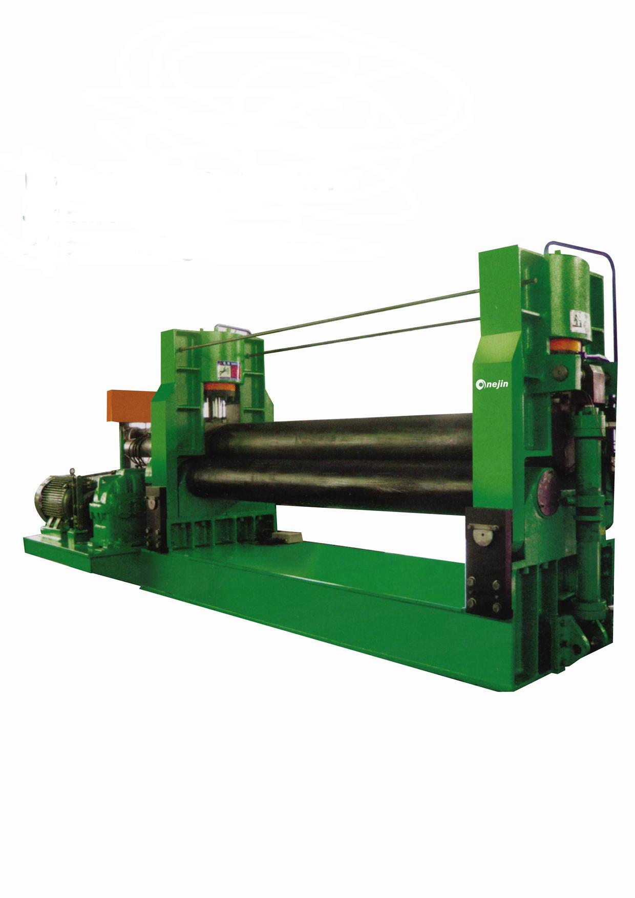 W11 Hydraulic 3 Roller Symmetrical Plate Rolling Machine