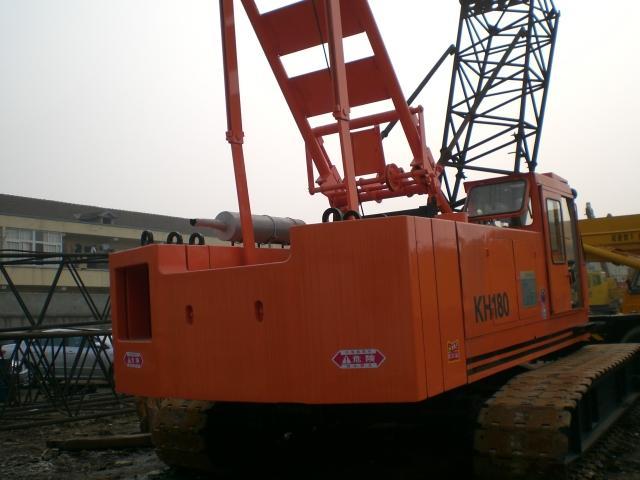 Hitachi KH180 crawler crane,used crawler crane,secondhand