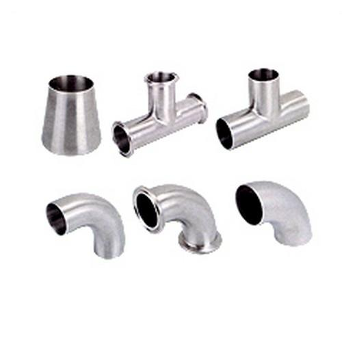 Sanitary fittings a fitting pipe