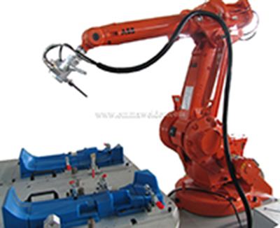 High precision Robot ultrasonic welding machine