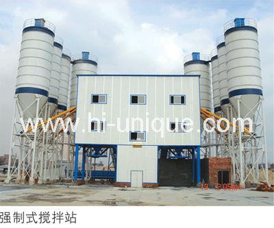 concrete mixing plant HZS120