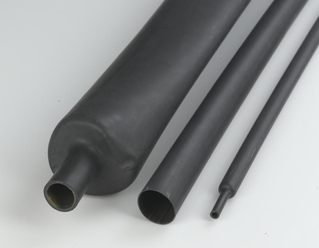 Medium wall polyolefin heat shrink tubing