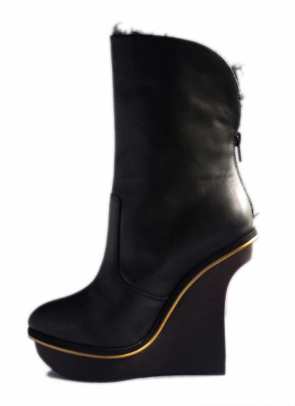 high heel boots for