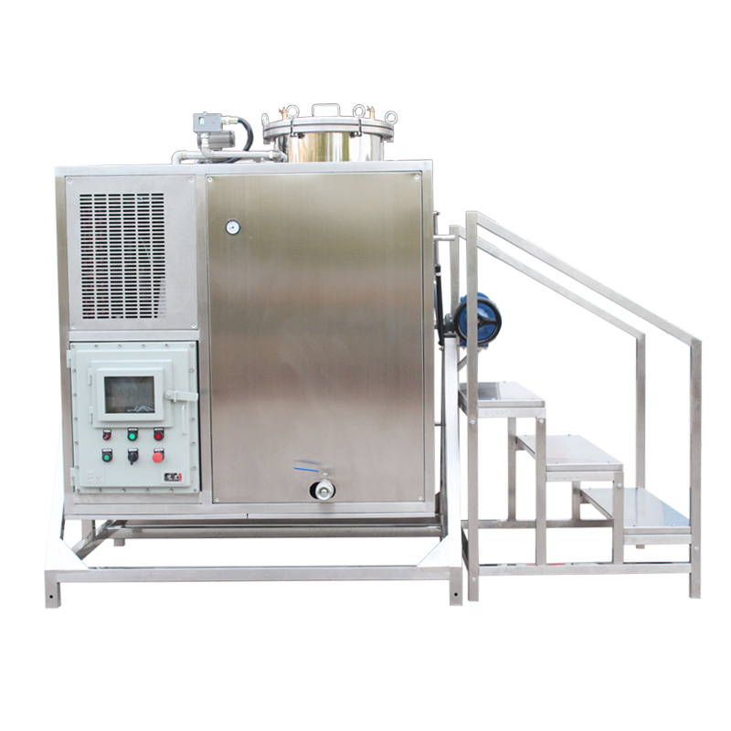 T - 250 ex solvent recovery machine