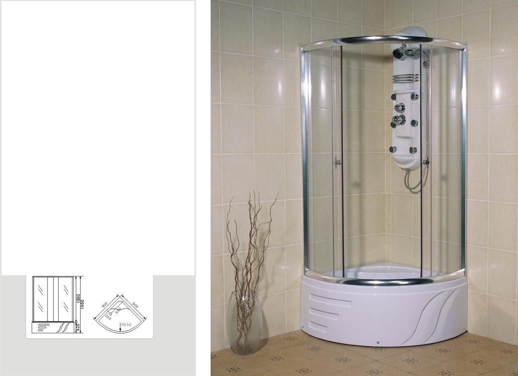 shower room/cubicle