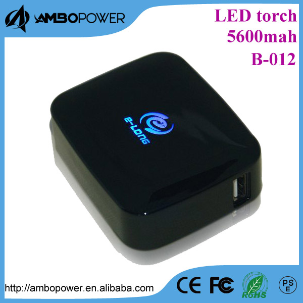 Emitting Logo power bank