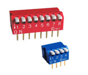 piano type dip switch
