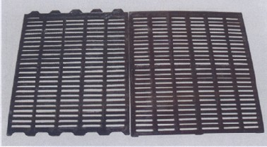 Ductile cast iron floor for pig or other animal