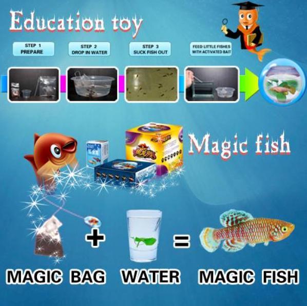 magic fish -novel toy