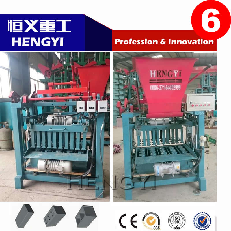 QT4-35 Concrete brick making machine