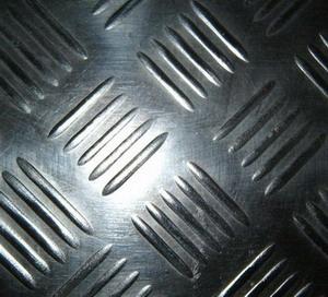 Checker rubber sheet