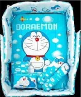Doraemon 7 In 1 Bedding Set