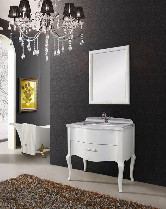 luxuary and european bathroom cabinet vanity bathroom