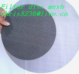 pharmaceutical, chemical, food of filter disc mesh