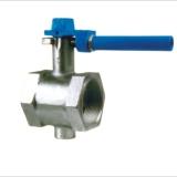 Thread-end butterfley valve