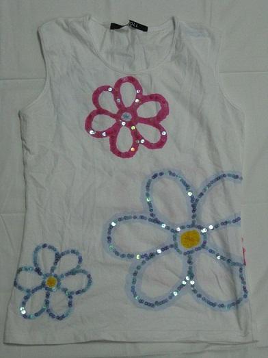 Ladies' woven vest