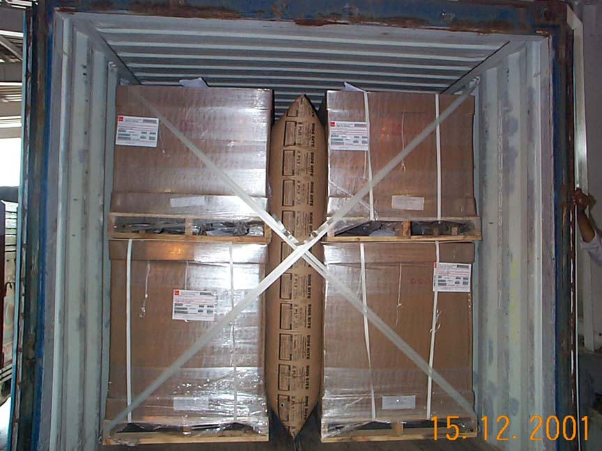 Export Container Lashing : AAR Approved