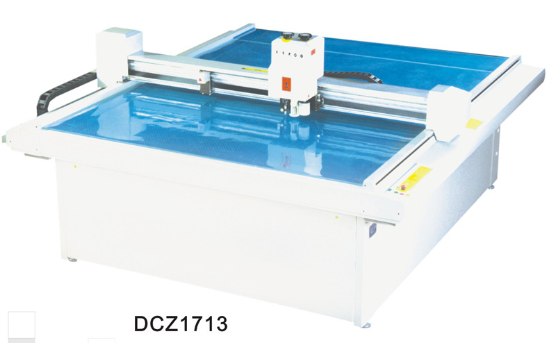 DCZ1713 carton box die cut plotter sample cut machine plotte