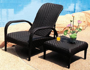 rattan chair