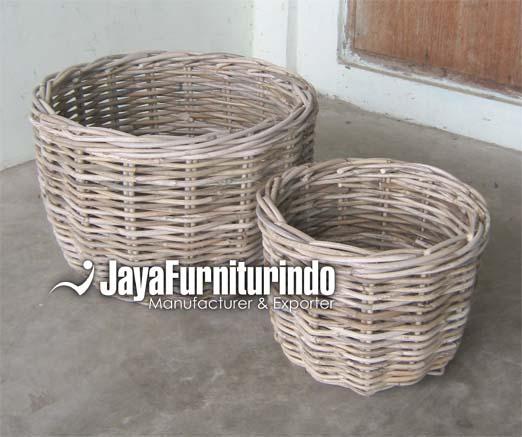 Round Basket Set of 2