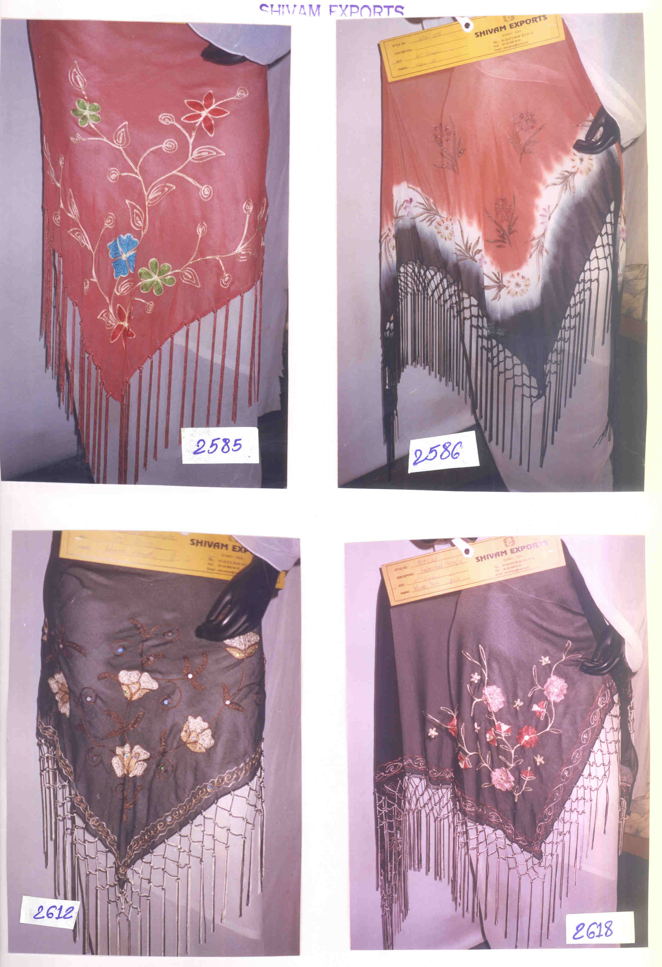 scarvces & shawls, sarong and pareo