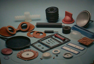 RUBBER AND PTFE MOULDING ITEMS