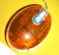 Infogate 3D Wheel UFO Optical Mouse