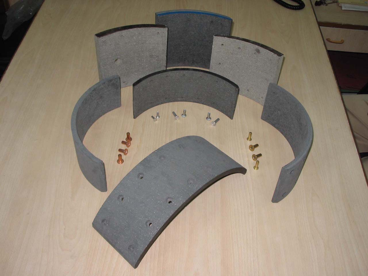 Brake And Clutch Lining Material : Kaps international