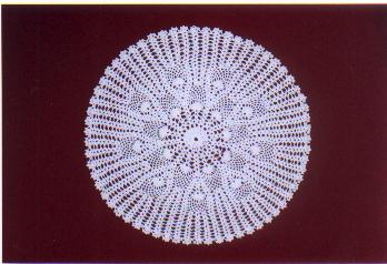 crochet lace goods