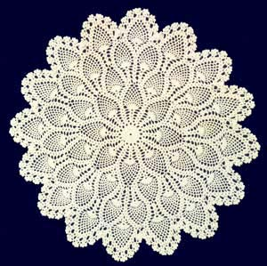 HAND CROCHETED LACE HOME DECORATIVES - Feb, 20 2006