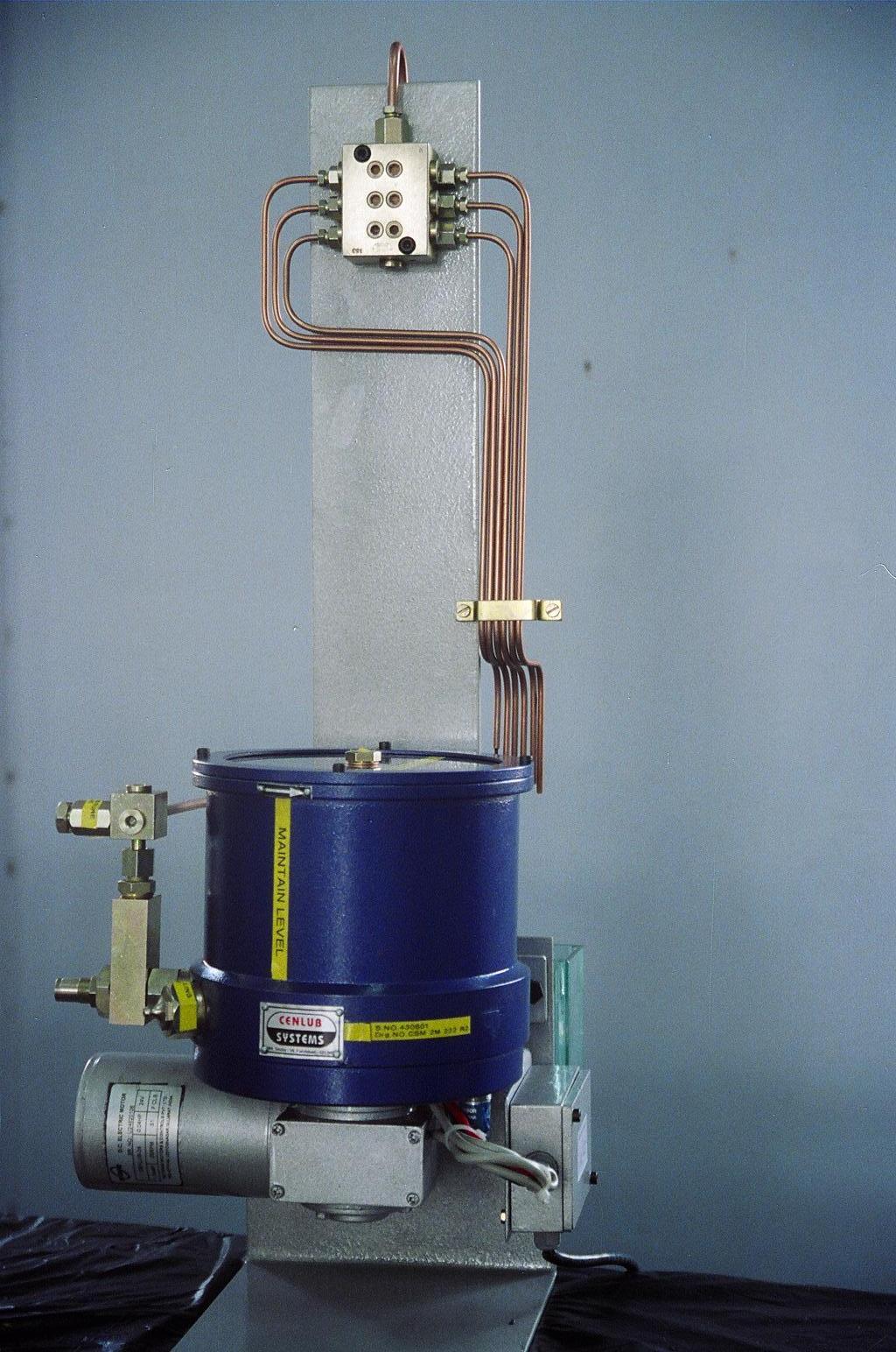 24volt multipoint lubricator