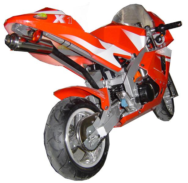 49cc Midi Moto Cvt