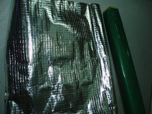 Aluminium insulation fire retardant foil for Is insulation fire resistant