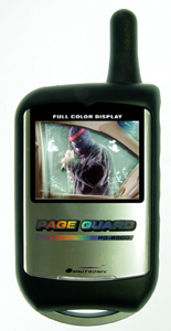 Car Alarm With Color LCD And Camera Module