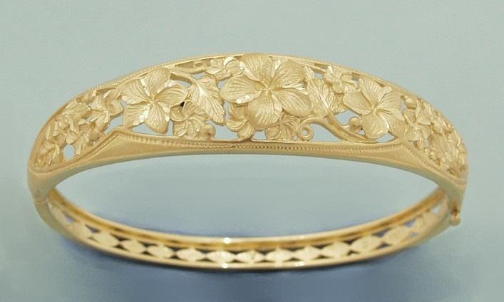 Flower Bengal Bracelet14k Gold
