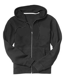 Hooded Jacket With Full Front Zip