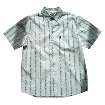Man's Short Shirt