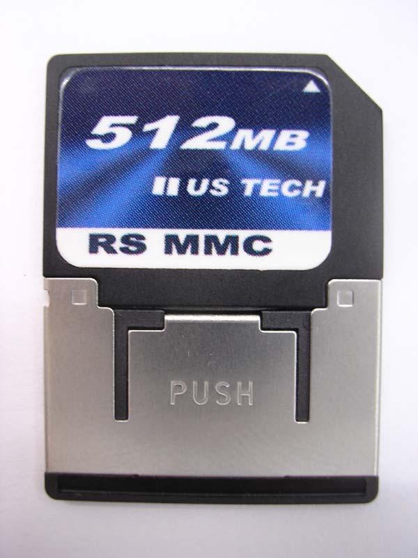 RS MMC Card