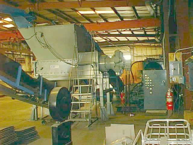 SSI 2400 Tire Shredder